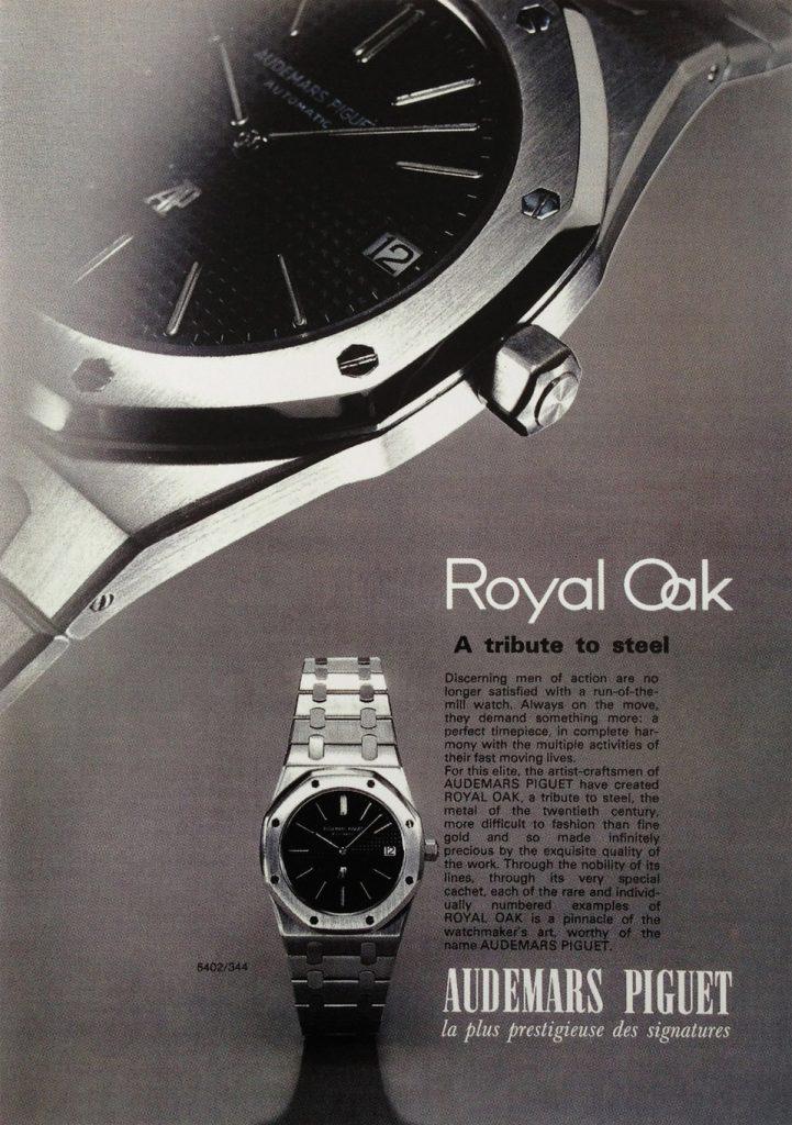 Histoire Audemars Piguet Royal Oak 10