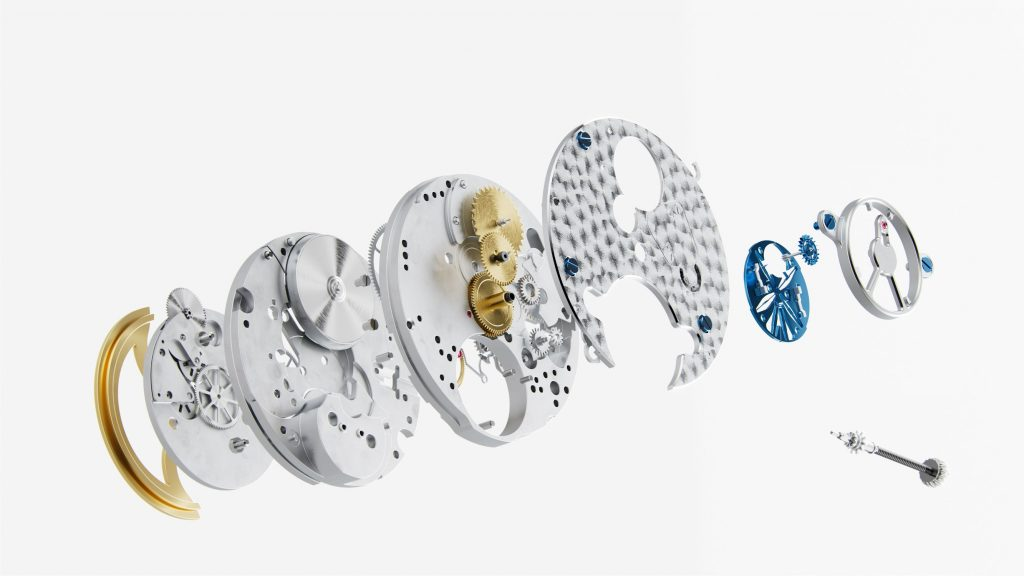 Frederique Constant FC 810 Caliber Exploded View
